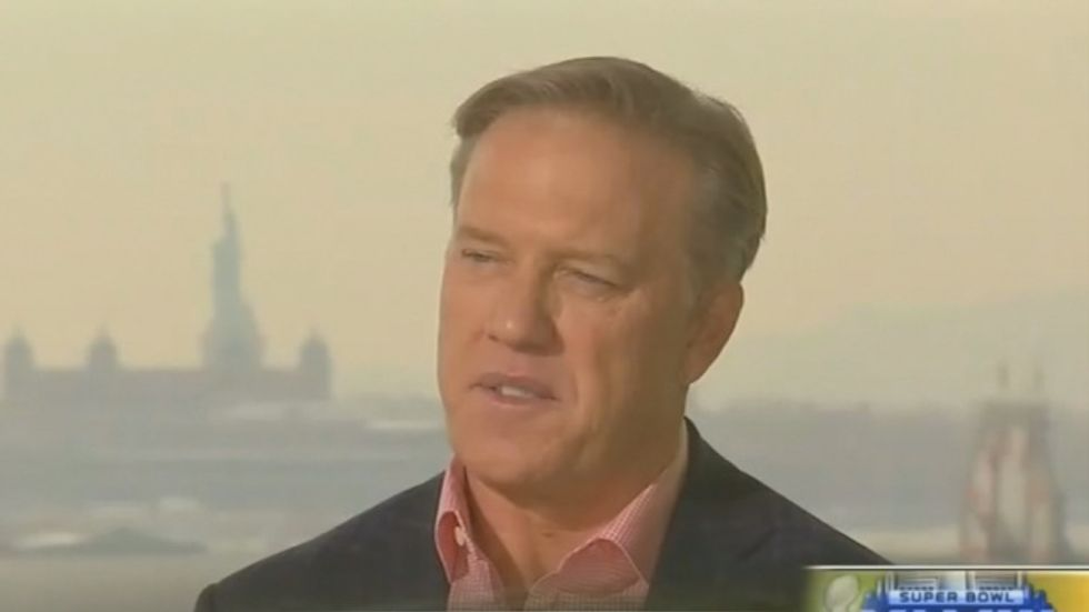John Elway to Fox News: I'm Republican because 'I don't believe in safety nets'