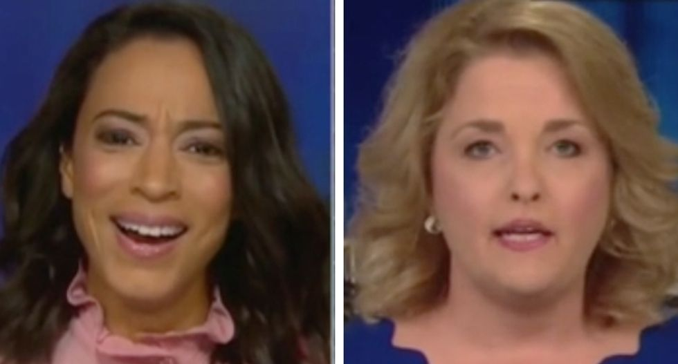CNN's Angela Rye bursts out laughing as Trump supporter melts down over criticism of president