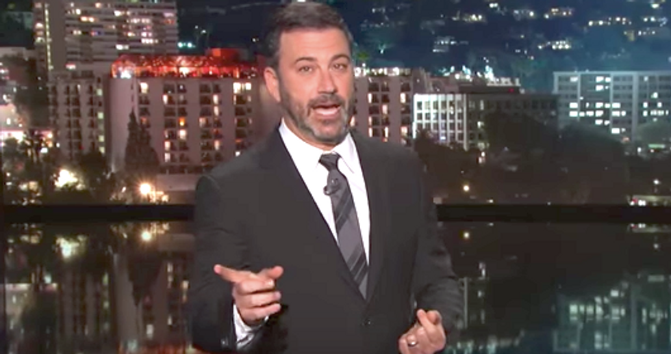 Jimmy Kimmel rips Trump fixation on undoing Obama legacy: 'Hope he doesn't bring bin Laden back to life'
