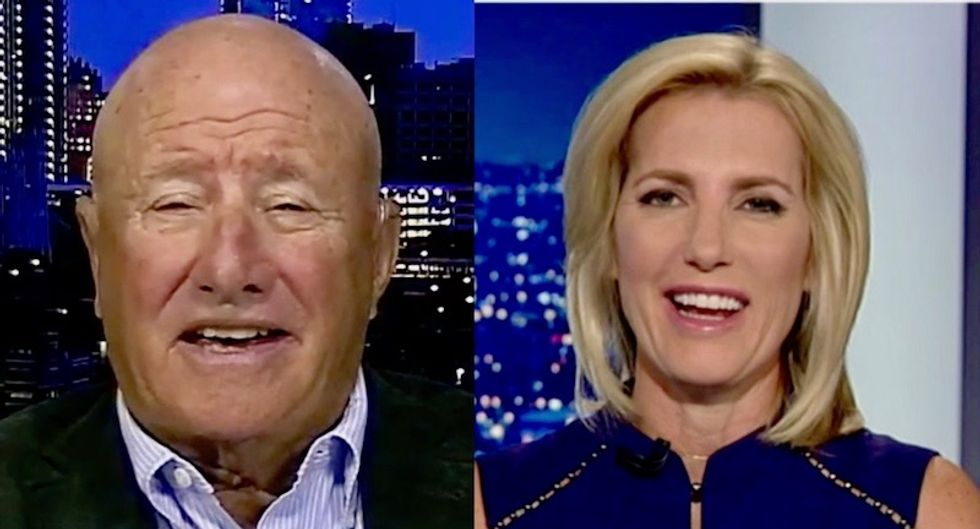 Watch: Fox News host Laura Ingraham and guests laugh about 'Mickey Mouse movie prop' mail bombs