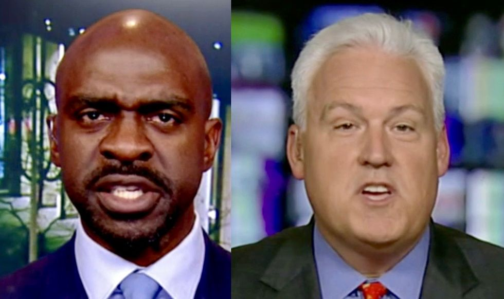 'I'm not going to put up with it!': Fox News panel explodes when black guest confronts Matt Schlapp about racist tweets