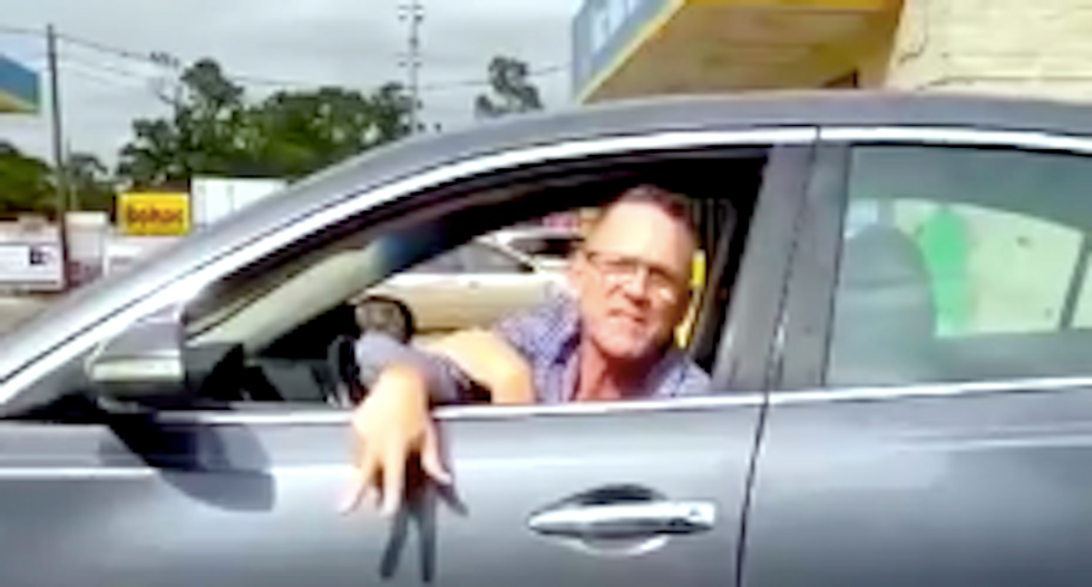 White man hurls racist insults at woman in Houston road rage freakout: 'Trump's deporting your stupid cousins today'