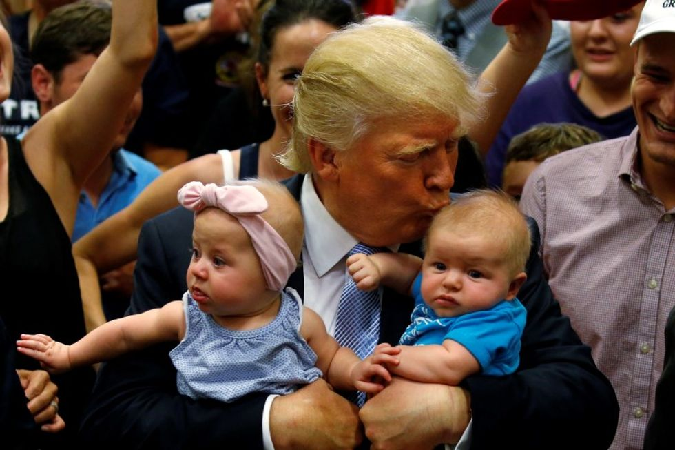 Trump to propose deduction on childcare spending: aide