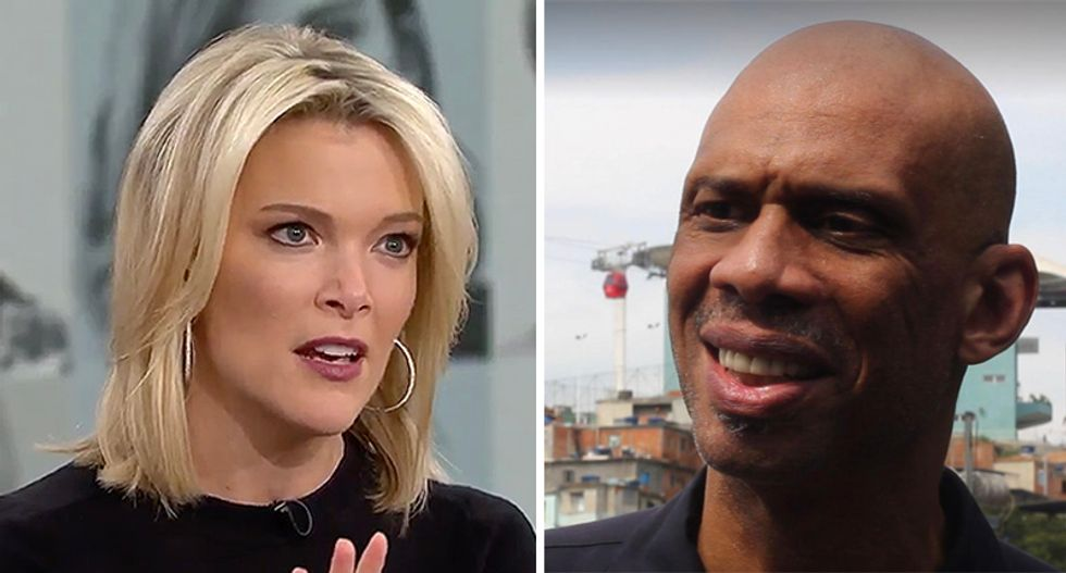 Kareem Abdul-Jabbar slams NBC for acting like they didn't know Megyn Kelly was a racist before they gave her $69 million