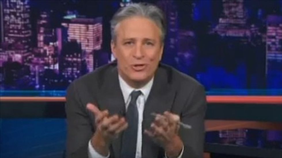 Jon Stewart hammers media for idiotic Secret Service coverage: 'What, are you f*cking drunk?'