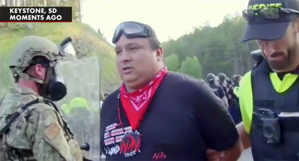 Trump supporters shouted 'go home' at Native Americans protesting Mount Rushmore rally on their land: report