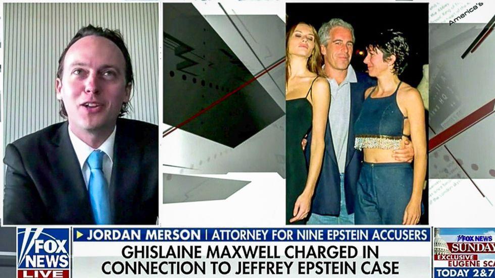 Fox News edits Donald Trump — but not Melania — out of Jeffrey Epstein photo