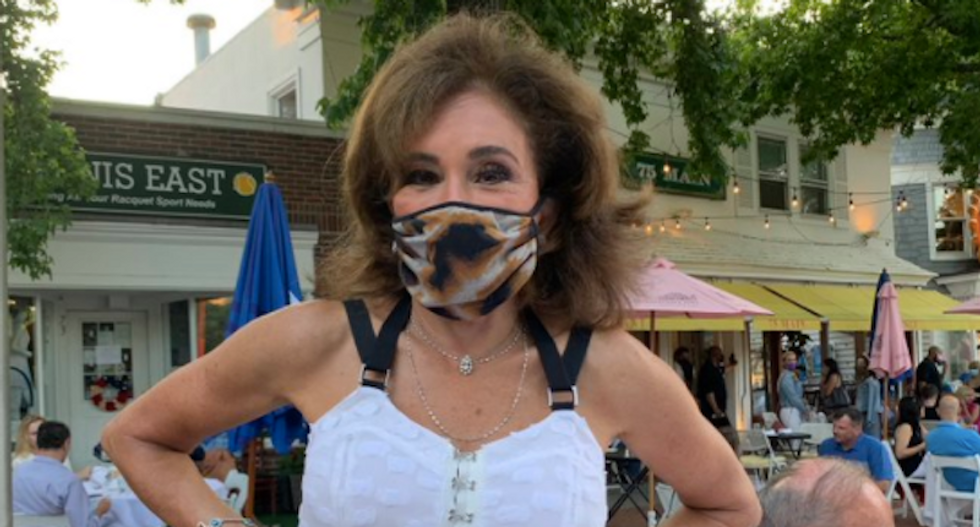 Fox News fans melt down over Jeanine Pirro's mask: 'Take it off Judge -- don't be a sheep!'