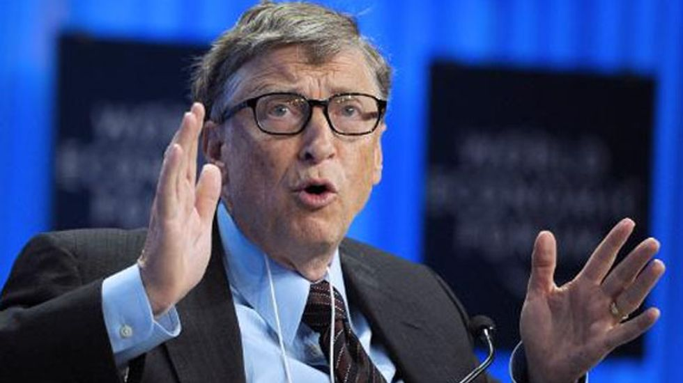 Bill Gates calls for 'germ games' instead of war games at TED Conference
