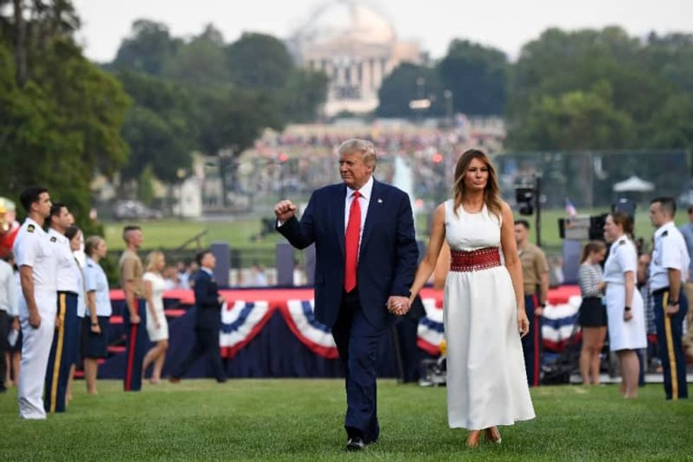 Trump's angry words, virus darken US July 4th weekend