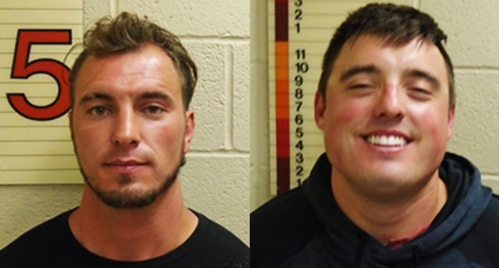 'Highly intoxicated' white men arrested after harassing Black family with Nazi salutes: police