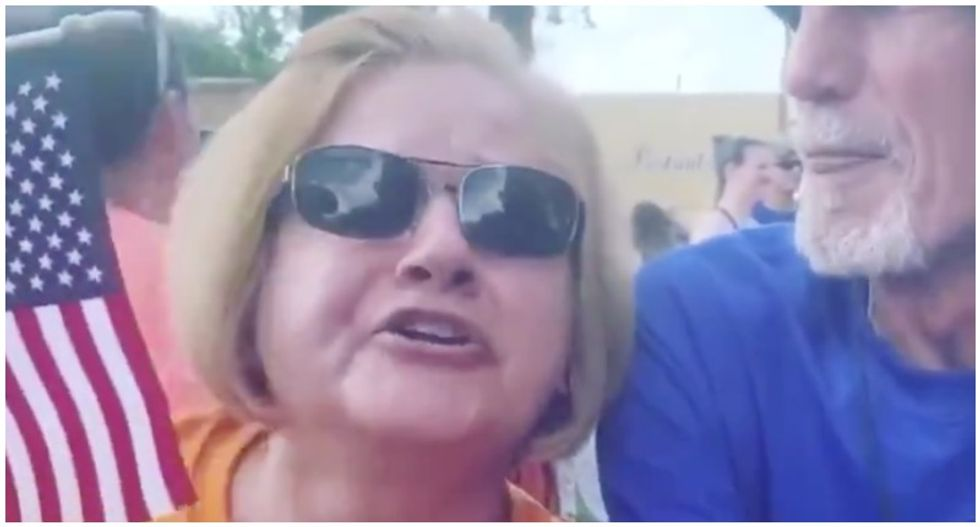 Woman out of a job after telling Black protester 'white lives are better' during racist tirade caught on video