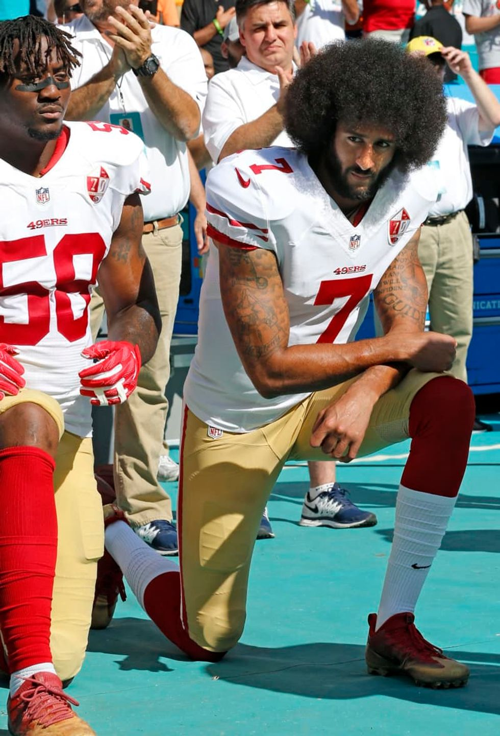 Sacramento hit with lawsuit over requirement that people stand for national anthem