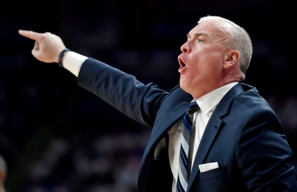 Penn State basketball coach Pat Chambers referenced a 'noose' around a Black player's neck