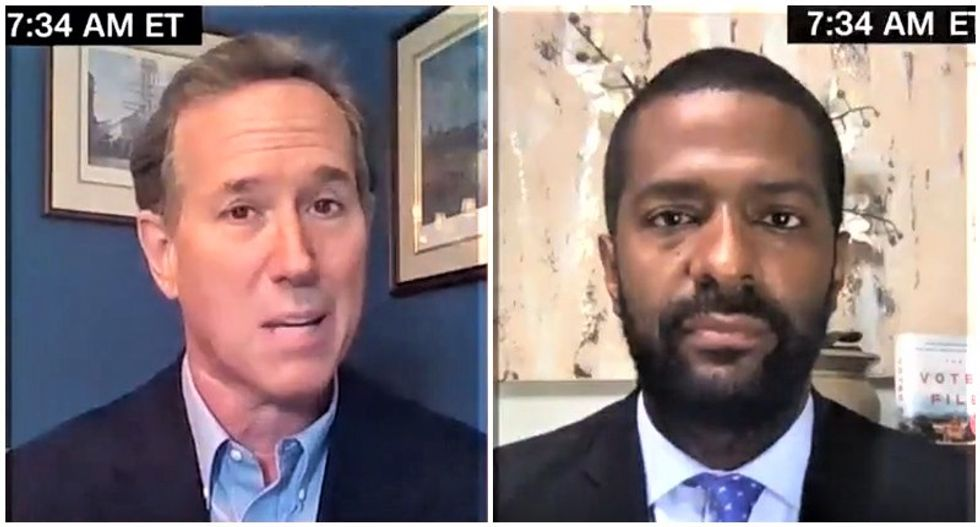 CNN's Bakari Sellers slams Rick Santorum for claiming slavery and abortion are the same thing