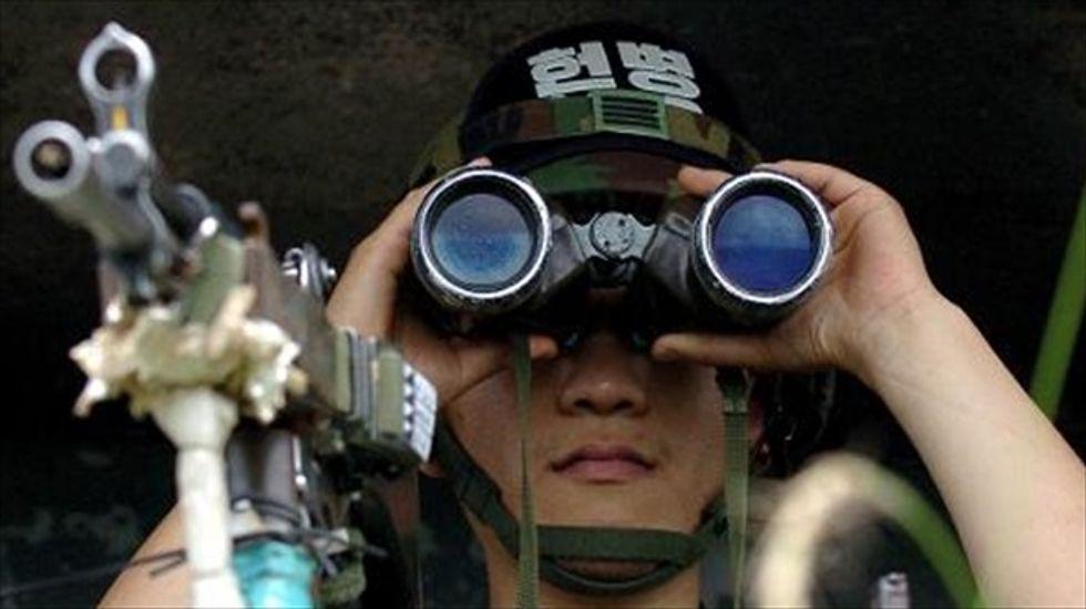 South Korean border guard kills five fellow soldiers