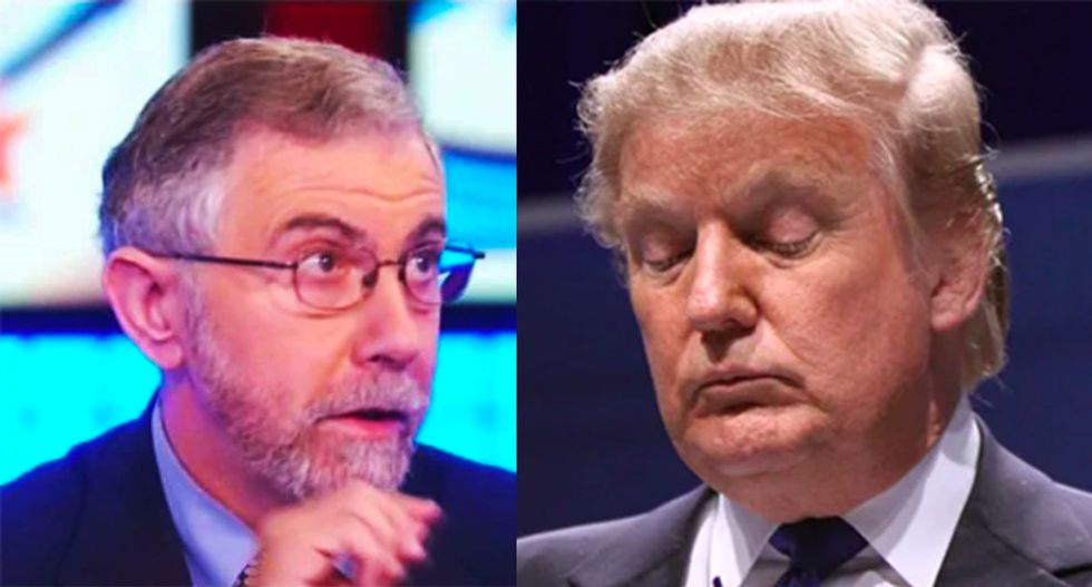 COVID-19 was Trump's 'first significant test -- and he flunked it with flying colors': Paul Krugman