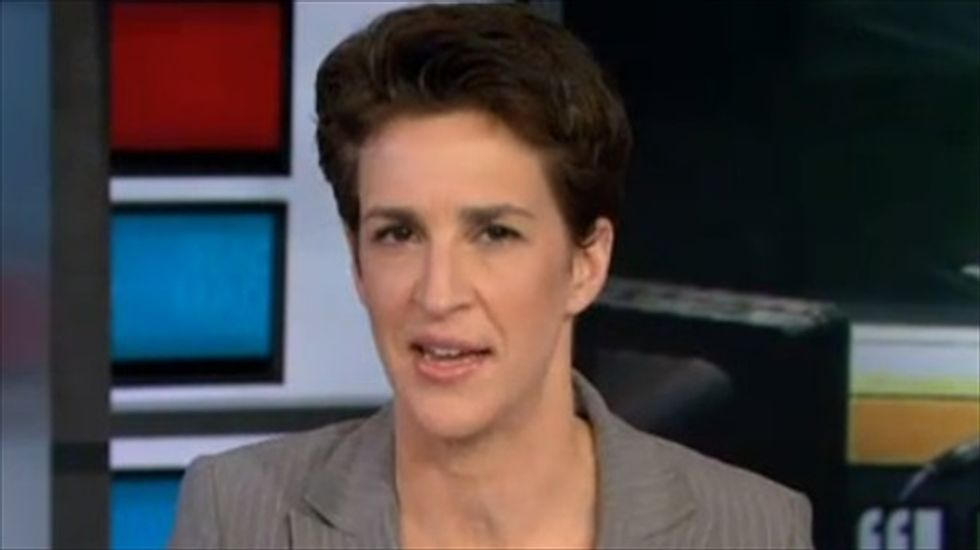 Rachel Maddow shoots down Washington media 'fairy tale' about kinder, gentler GOP