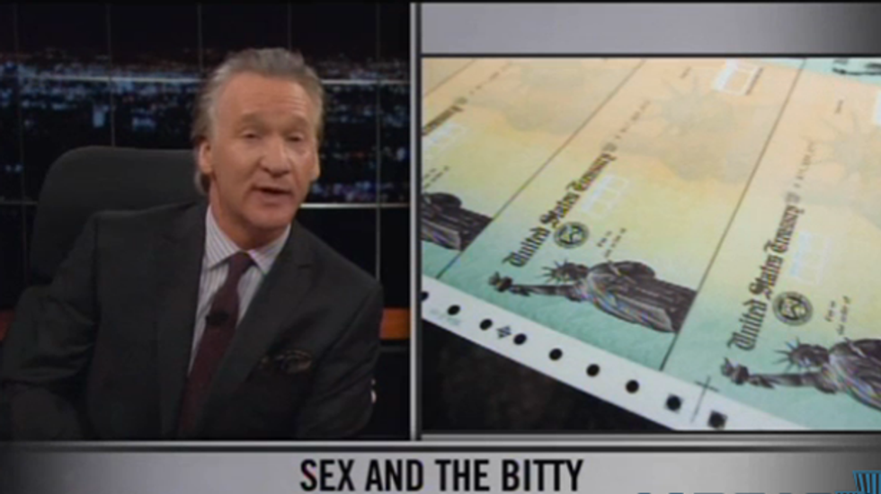 Maher: Why are old people angry when they're getting all the money and having all the sex