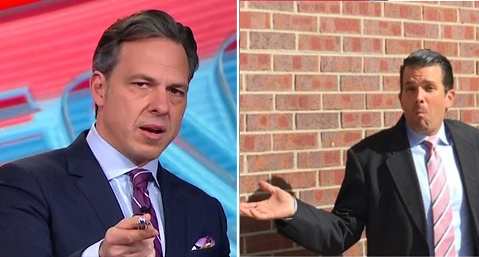 WATCH: Jake Tapper walks through the many lies Donald Trump Jr. told about the Russian meeting