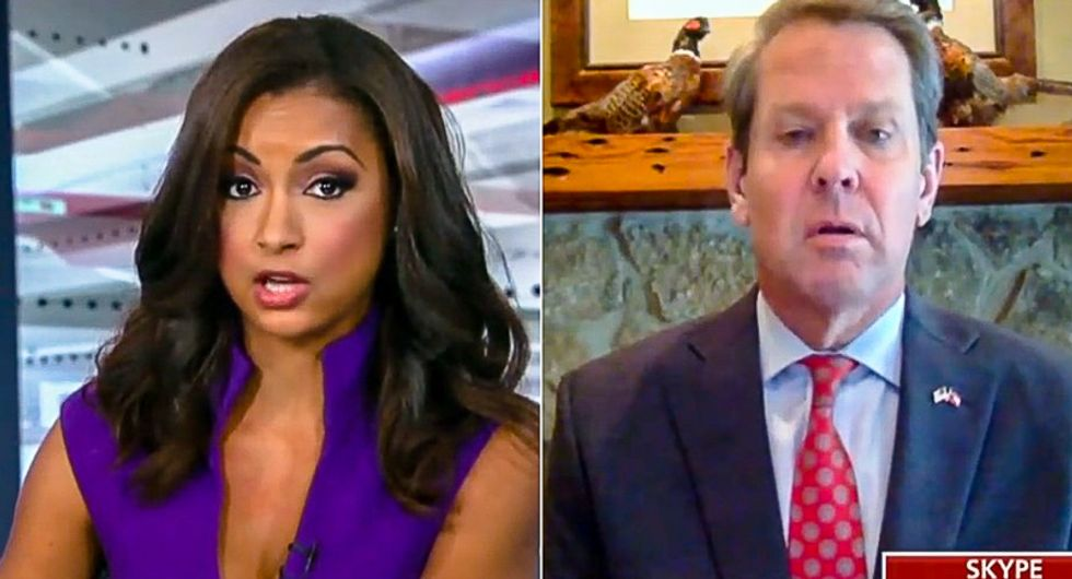 Fox News host nails Georgia Secretary of State over sketchy voter purge: 'Suppression is alive and well'