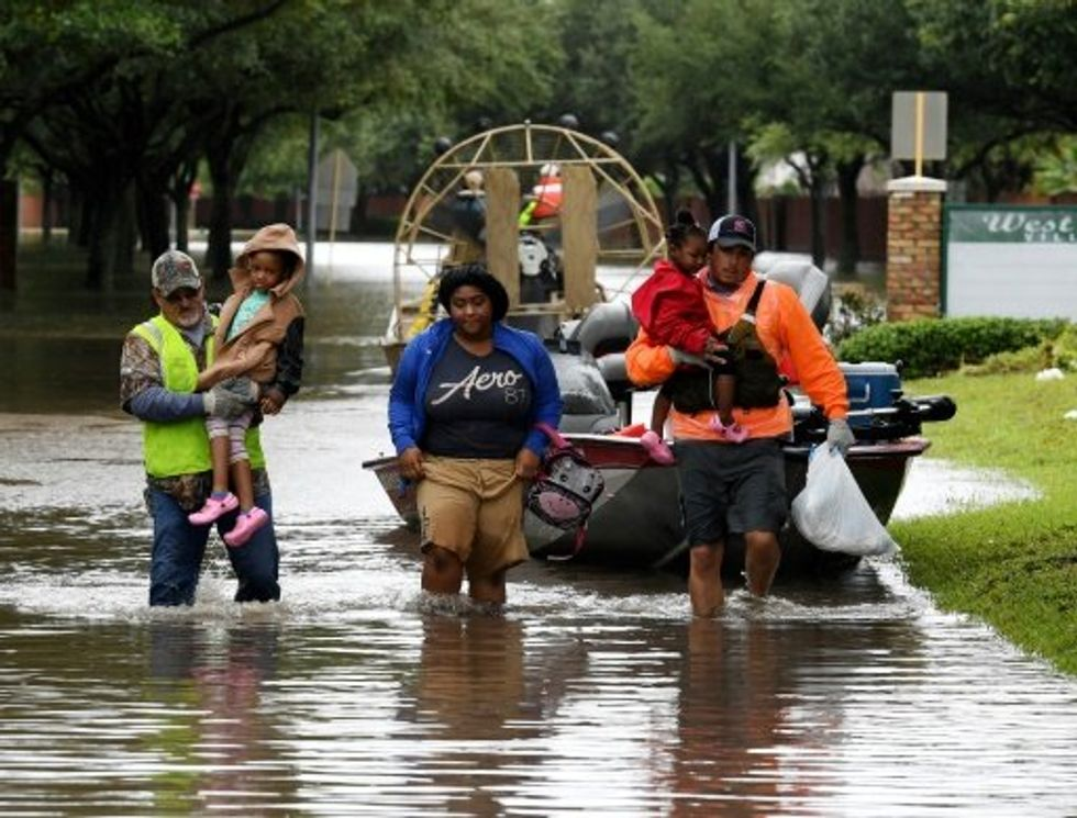Texans complain Trump administration failing to provide hurricane aid — and it's worse for blacks and Hispanics