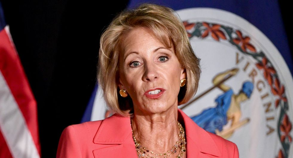 Betsy DeVos speech shows contempt for the agency she heads