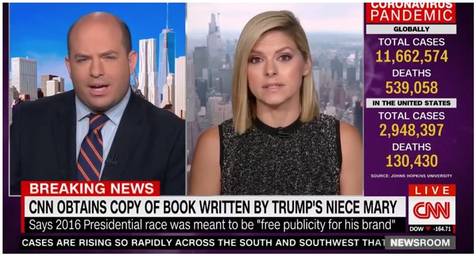 'This is scathing': CNN hosts floored by Mary Trump's description of the president's lies, failures and 'daddy issues'