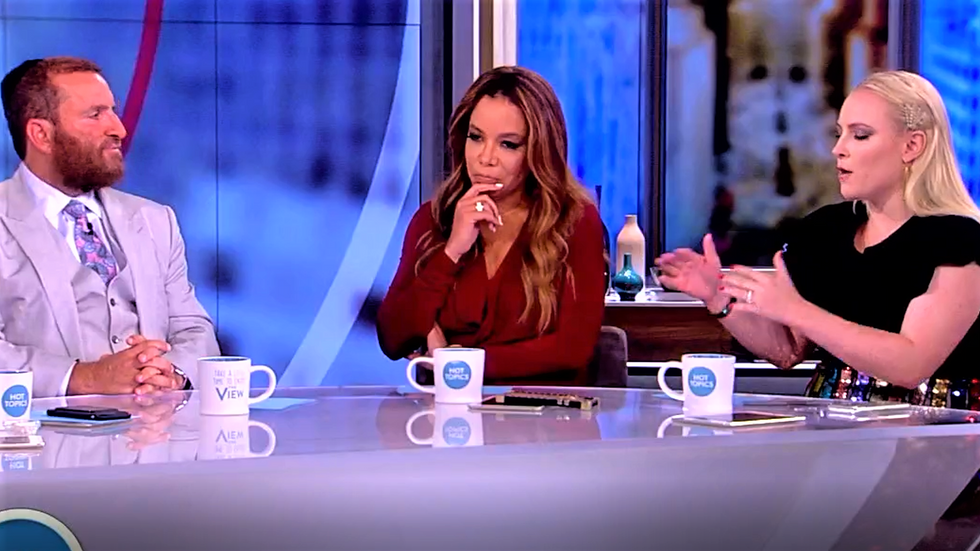 The View's Meghan McCain slams conservative rabbi for defending Roseanne: 'She is every gross stereotype' of Trump fans