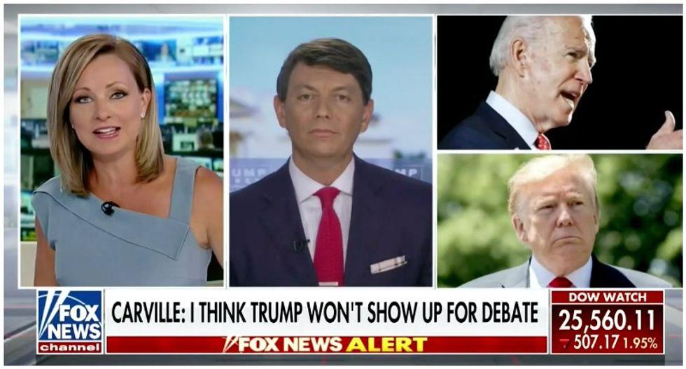 Fox News host shuts down Trump spokesman's attempt to paint Biden as a child molester