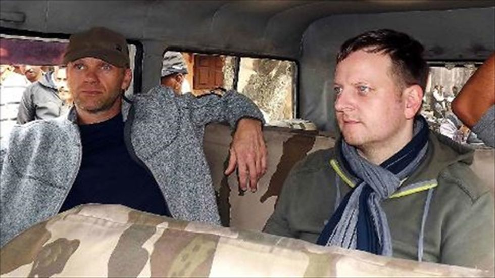 European reality TV crew arrested in India over their satellite phones