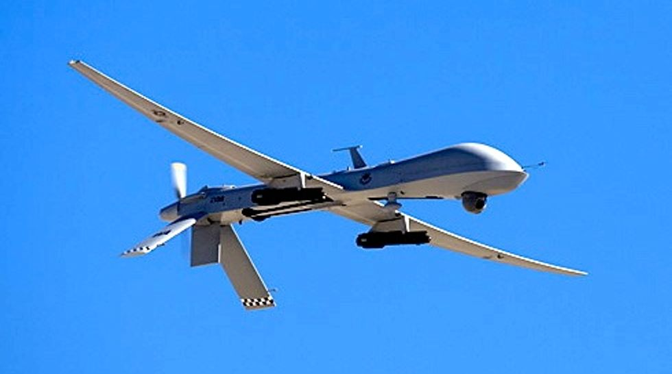 Federal Border Patrol flying predator drone over Minneapolis: report