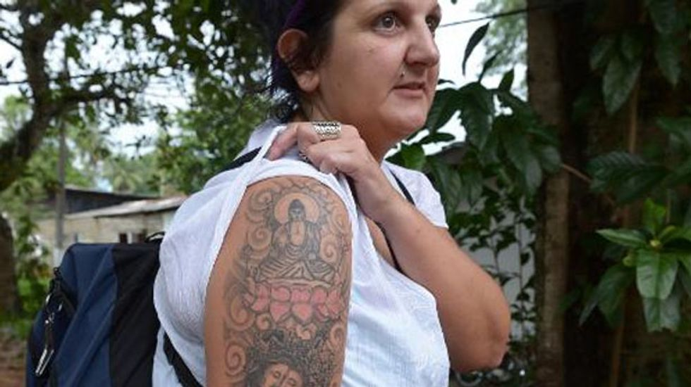 British tourist kicked out of Sri Lanka for her Buddha tattoo files lawsuit