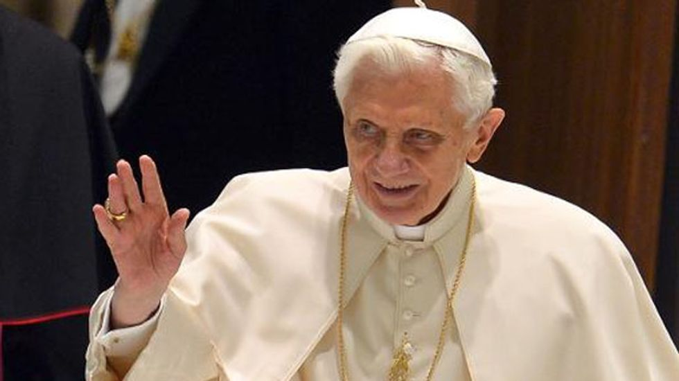 Forgotten Pope Benedict lives out his days in the shadows