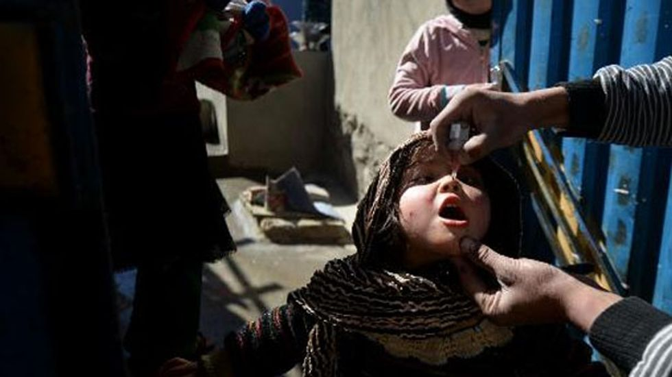Polio returns to Afghan capital after 13 years