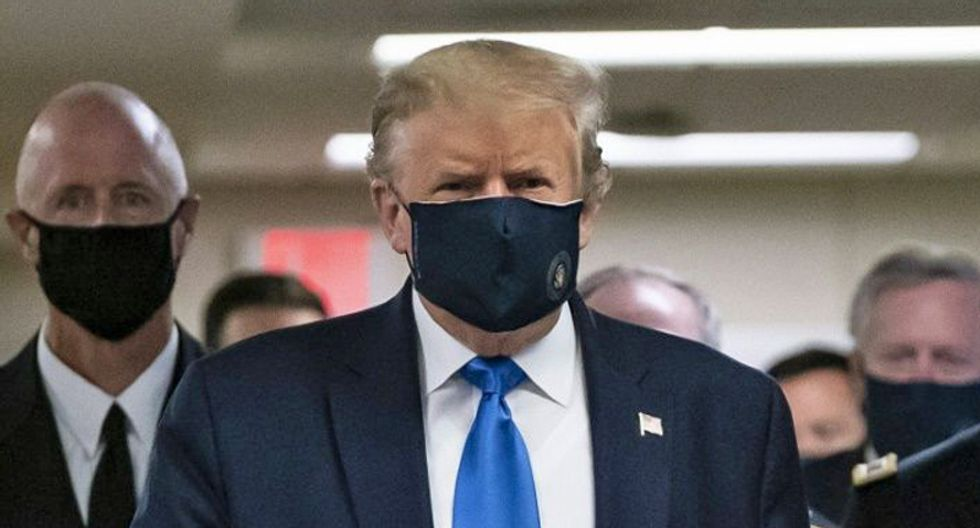 Trump is only embracing masks out of terror of his crashing poll numbers: NYT's Maggie Haberman