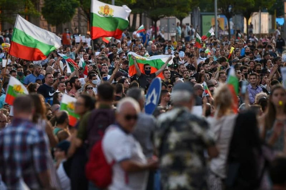Bulgarian president calls on 'mafia-type' government to resign