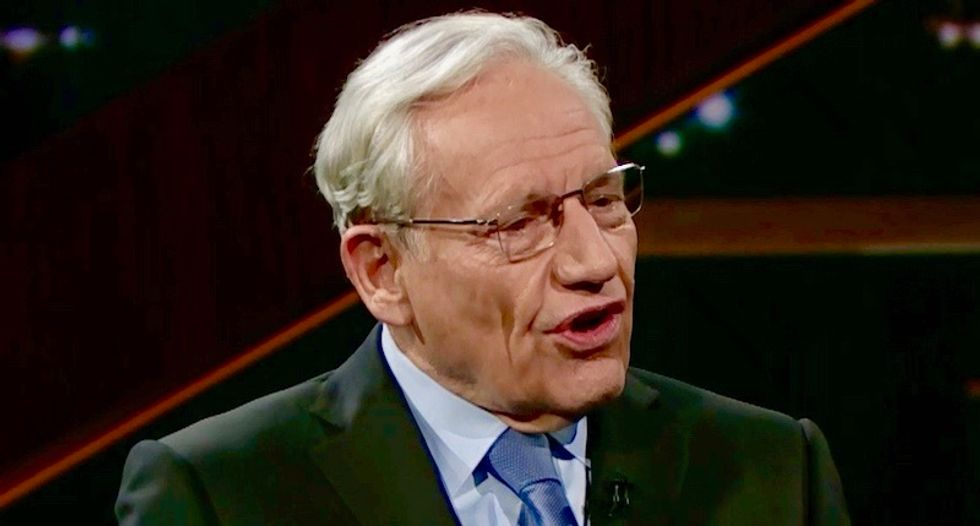 'When I learned that I got a chill': Bob Woodward reveals the scariest thing he knows about Trump to HBO's Bill Maher