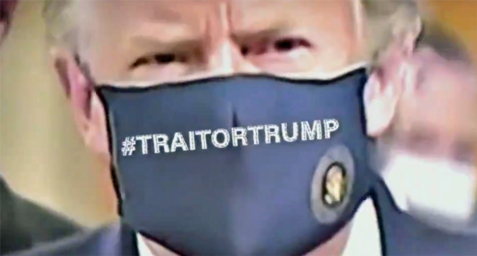 Trump ripped as a 'traitor' by veterans for his mask photo-op at Walter Reed Hospital