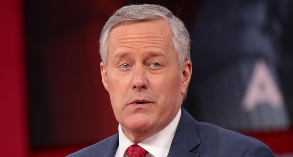 Mark Meadows attacks Biden for wearing a mask one day after he said Trump won't control the pandemic