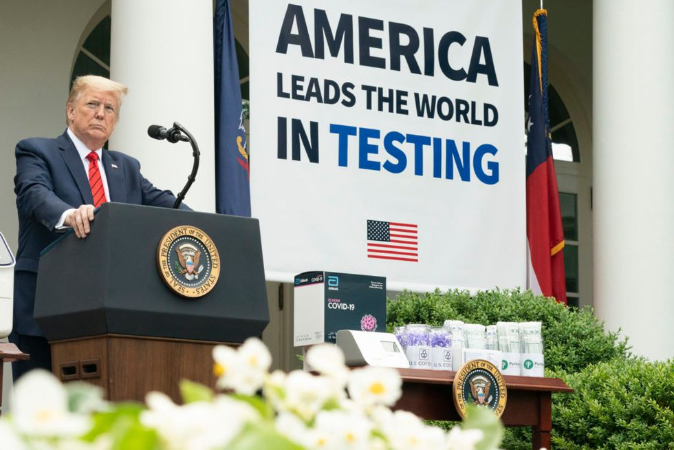 Trump official decries 'inexcusable' COVID-19 testing failures after his son had to wait a week for results