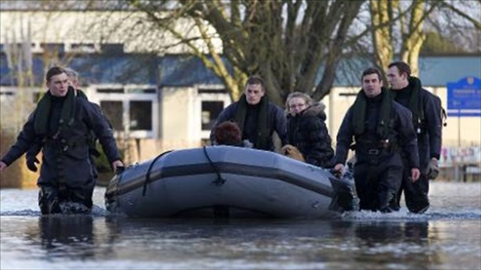 Freak British storm kills one and leaves thousands without power