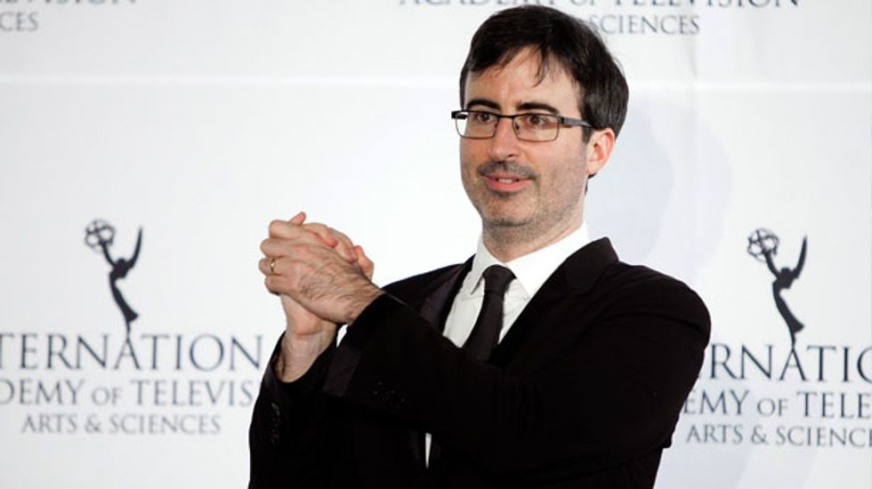 British comedian John Oliver to debut 'Last Week Tonight' on HBO in late April