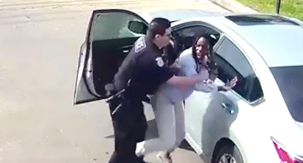 Black woman calls 911 during traffic stop because she fears Houston cop -- who then attacks her
