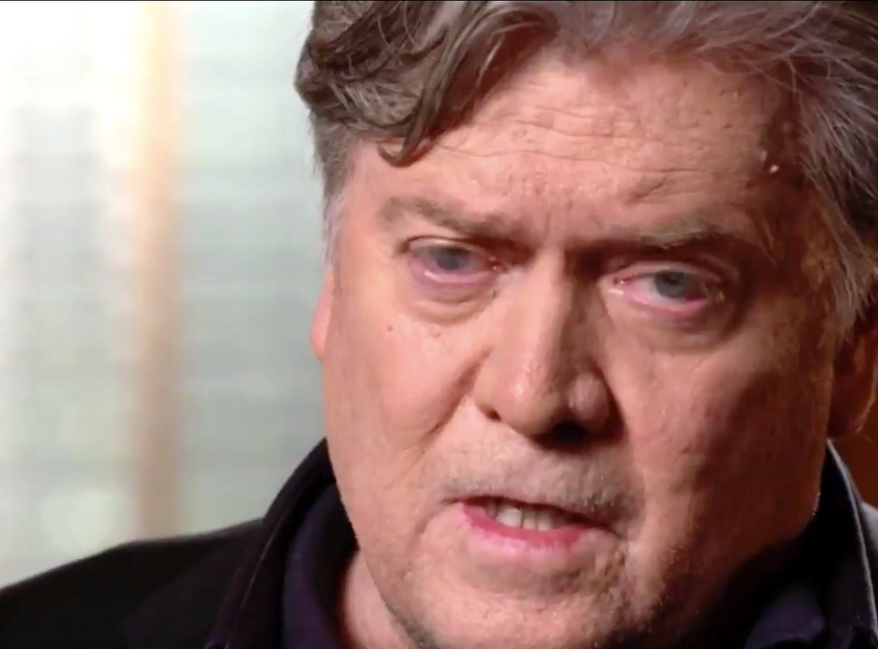 Here's why Bannon's desperate struggle to distance himself from racists and fascists is doomed