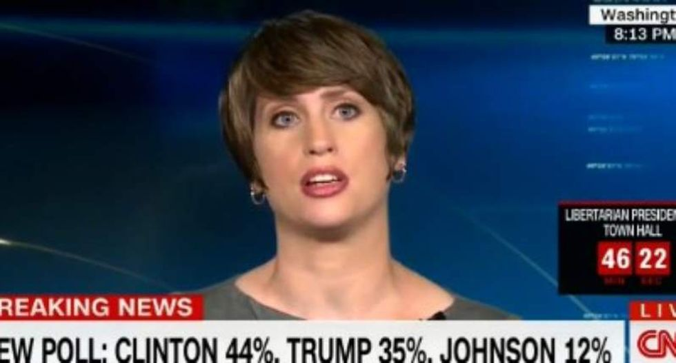 WATCH: GOP strategist calls Trump 'a loudmouthed d*ck' during live CNN interview