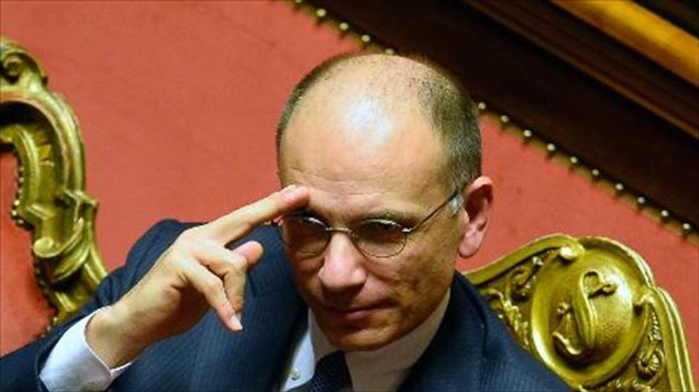 Italian Prime Minister Letta quits after being rebuked by his own party