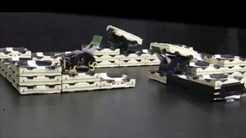 Harvard research team unveils robot 'termites' that don't need a boss