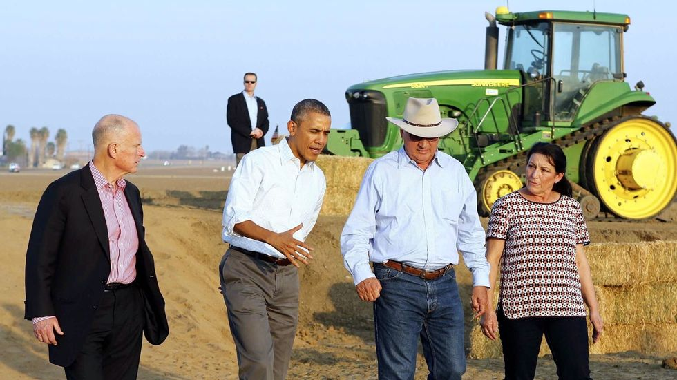 Obama pledges help for California's drought-stricken San Joaquin Valley