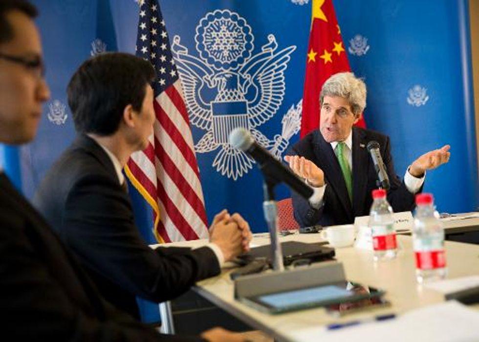 Chinese bloggers press US Secretary of State John Kerry on Internet freedom